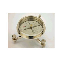 Nickel Polished Three Legs Compass