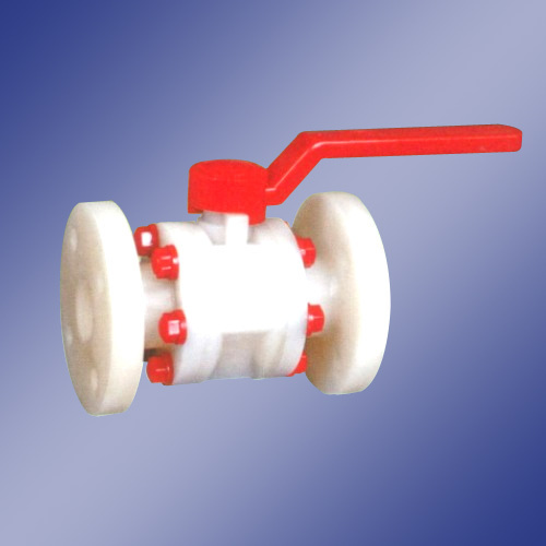 "Mitesh Pp PVDF Ball Valve Flange End, Size: 2"" To 4"", Model Number/Name: Non"