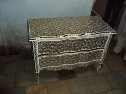 Glass Inlay Chest
