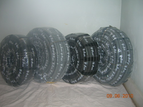 Black Size: 1'  HDPE Corrugated Pipes