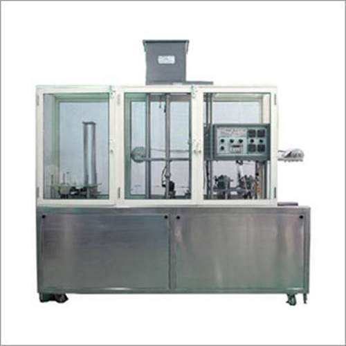 Automatic Glass Cup Filling and Sealing Machine