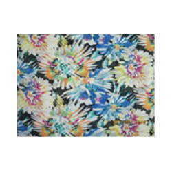 Poly Laser Georgette Fabric
