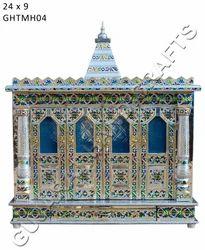 Four Door Meenakari Handicrafts Temple Gujarat Handicrafts