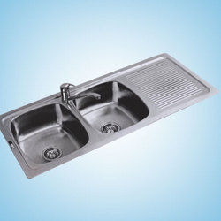 Craze Double Bowl With Drain Board Sinks