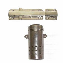 Main Door Knob / Cylinder Stainless Steel Lock & Air Freshener