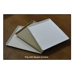 Rectangular Tray With Square Corners