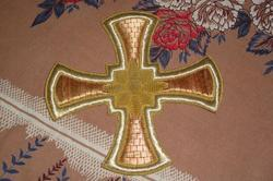 Church Crosses Fabric