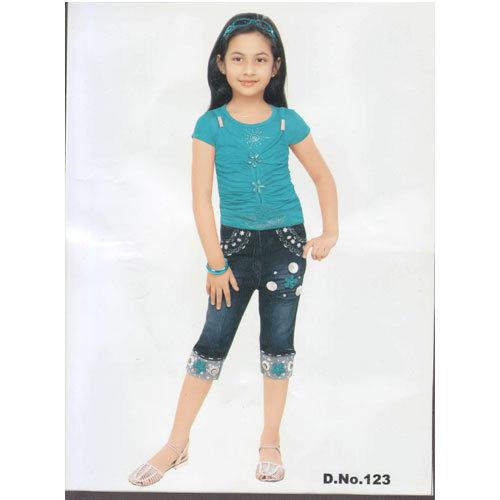 Girls Capri Jeans Jeans