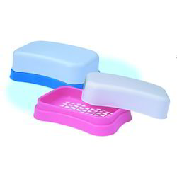 Rectangular Plastic Soap Case