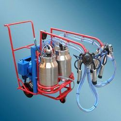 Milking Machine With Two Cans & Two Clusters