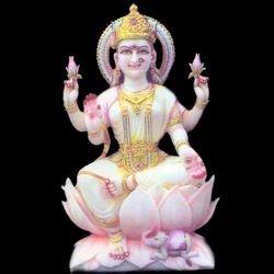 LA-1003 Marble Statue Of Laxmi Ji
