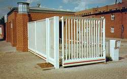 Folding Hinged Gate