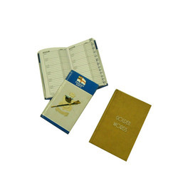 Telephone Index & Pocket Diary Printing Service