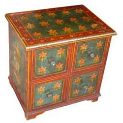 4 Drawer Painted Multipurpose Chest