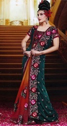 Bridal Designer Heavy Sequin Bollywood Saree Sar