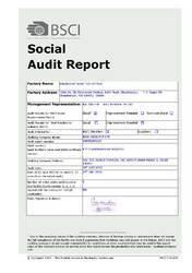 BSCI Certified