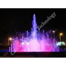 Outdoor Musical Fountain