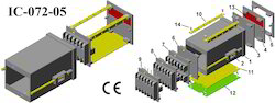 Digital Panel Meter Enclosure Din 72x72x110