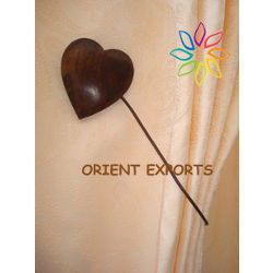 Heart-Shaped Magnetic Tieback