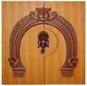 Ganesh Wood Door
