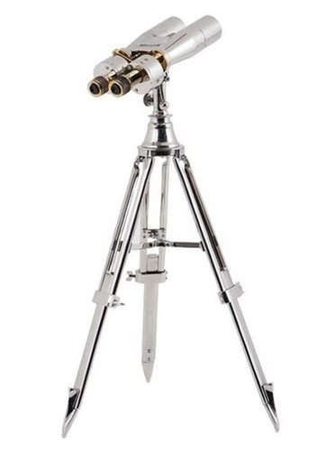 Brass Binocular with Stand Nickel