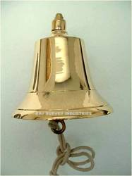 Solid Heavy Brass Fog Bell