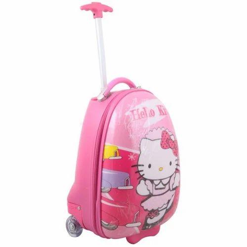 Hello Kitty Travel Luggage Bag Pink