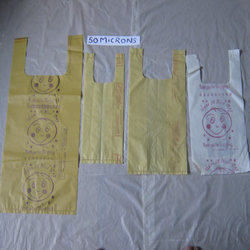 50 Micron Virgin & Recycled Carry Bag