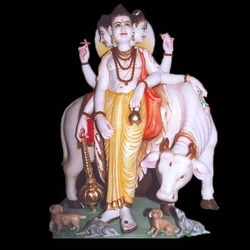 Marble Statue Of Lord Dattatraya