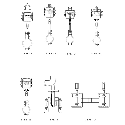 Variable Spring Hanger Supports Techno Industry Howrah