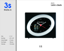 Advertising Table Clock