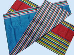Multi-colour Striped Weaved Silk Sarees