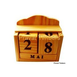 Digital Printing Wooden Table Calendar, For Office & Home