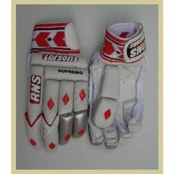 Leather Supremo Batting Gloves, Packaging Type: Packet