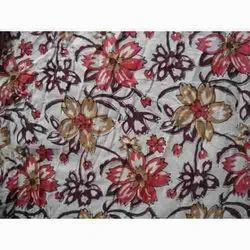 Modern Hand Block Print Design Fabric
