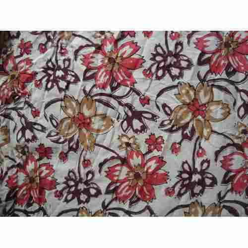 Cotton Nira Modern Hand Block Print Design Fabric Gsm 100 150