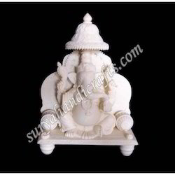 Bone Darbar Ganesh With Chatri