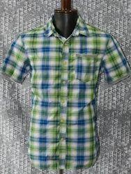 Checks Half Sleeves Shirt