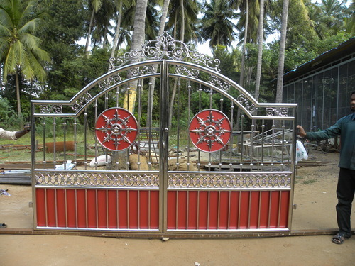 Stainless Steel Main Gate Gate Grilles Fences Railings G S