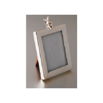 Small Square Sterling Silver Photo Frame - Karma Silverware, Noida ...
