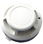 Photoelectric Smoke Detector with Battery Back-Up