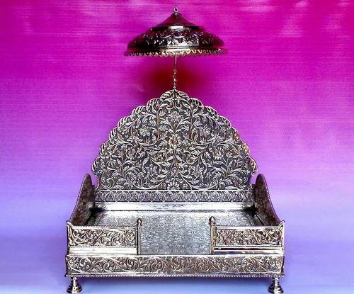 Silver Singhasan Singhasan Manufacturer From Delhi