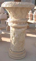 Large Stone Flower Pot