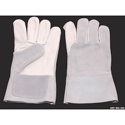 Leather Safety Combination (Split and Grain) Gloves