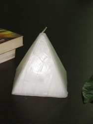 Pyramid Shaped Candle