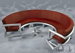 Stainless Steel Sofa