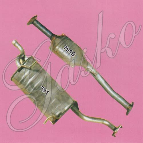 Maruti Versa Exhaust Pipes, Air Intakes, Exhaust Systems