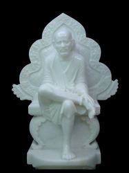 Sai Baba Idol with His Sinhasan