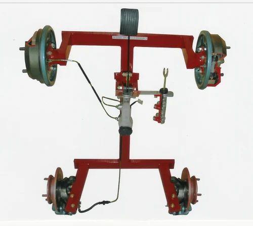 Cut Section Model Of Hydraulic Brake Unit -Four Wheel Type