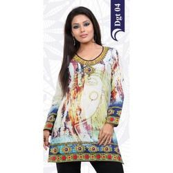 Digital Ladies Printed Kurtis